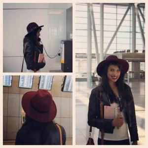 Airport Chic collage
